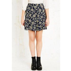 Kimchi Blue Urban Outfitters Sunflower Skirt